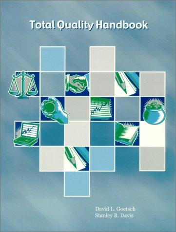 Total Quality Handbook 9780130272621