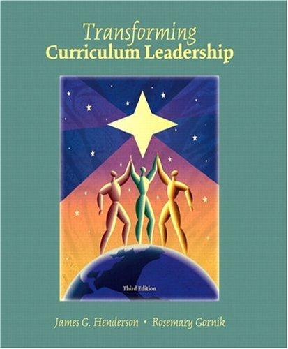 Transformative Curriculum Leadership 9780131138964
