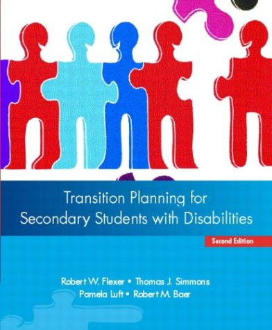 Transition Planning for Secondary Students with Disabilities 9780131123779