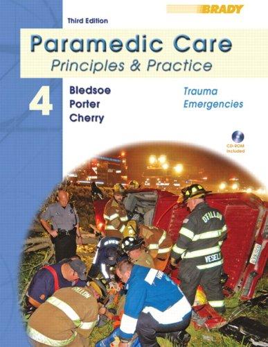 Trauma Emergencies [With CDROM] 9780135137017
