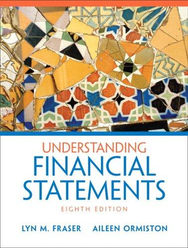 Understanding Financial Statements 9780131878563