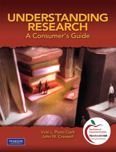 Understanding Research: A Consumer's Guide 9780131583894