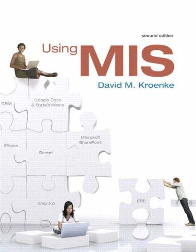 Using MIS 9780138132484