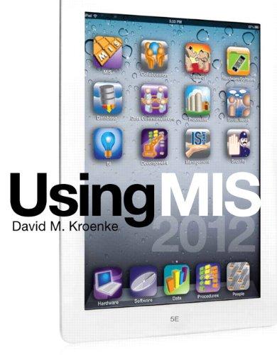 Using MIS 9780132662642