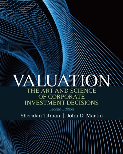 Valuation: The Art and Science of Corporate Investment Decisions 9780136117018