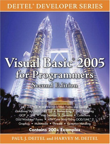 Visual Basic 2005 for Programmers [With CD-ROM] 9780132251402
