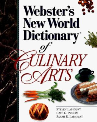 Webster's New World Dictionary of the Culinary Arts 9780134757322