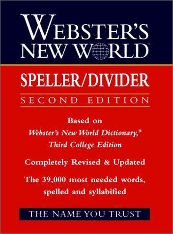 Webster's New World Speller/Divider 9780139536540
