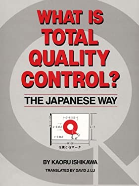 What is Total Quality Control? the Japanese Way 9780139524332