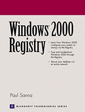 Windows 2000 Registry 9780130300645