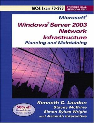 Windows 2003 Server Network and Server OS 70-291 with Sticker Package 9780131615243