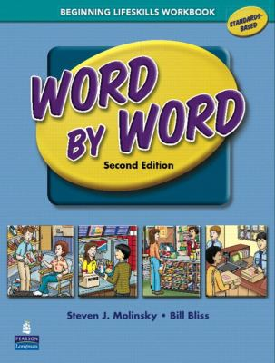 Word by Word Picture Dictionary with Wordsongs Music CD Beginning Lifeskills Workbook 9780131935457