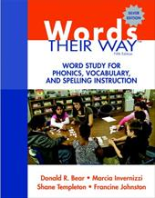 Words Their Way: Word Study for Phonics, Vocabulary, and Spelling Instruction 12641299