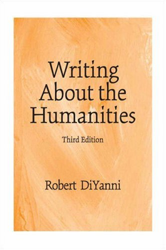Writing about the Humanities 9780136151418