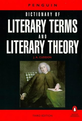 dictionary of literary terms and literary theory cuddon pdf
