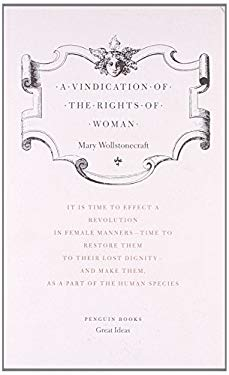 A Vindication of the Rights of Woman 9780141018911