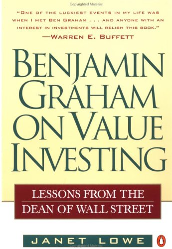 Benjamin Graham on Value Investing: Lessons from the Dean of Wall Street 9780140255348