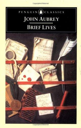 Brief Lives 9780140435894