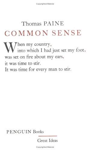 Common Sense 9780143036258