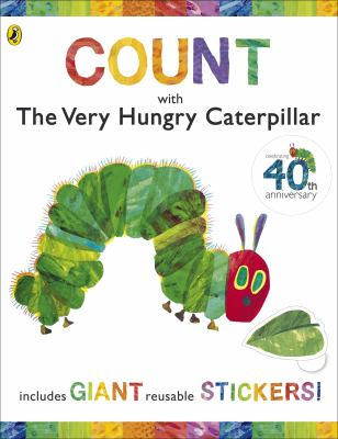 Count with the Very Hungry Caterpillar (Sticker Book) 9780141501963