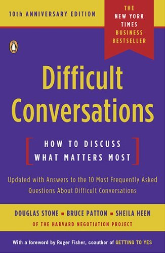 Difficult Conversations: How to Discuss What Matters Most 9780143118442
