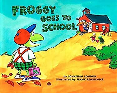 Froggy Goes to School [With Tattoos] 9780140562477
