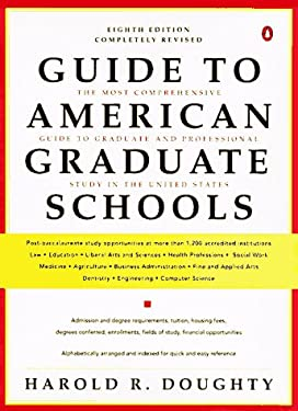 Guide to American Graduate Schools: Eighth Revised Edition 9780140469868