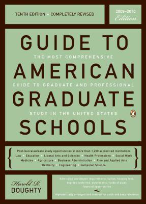 Guide to American Graduate Schools 9780143114680