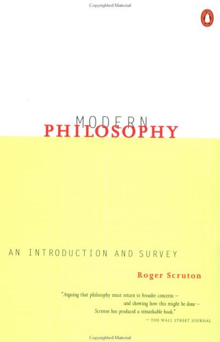 Modern Philosophy: An Introduction and Survey 9780140249071