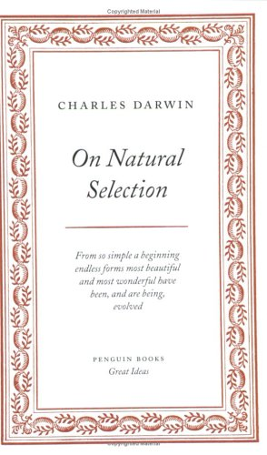 On Natural Selection 9780143036302