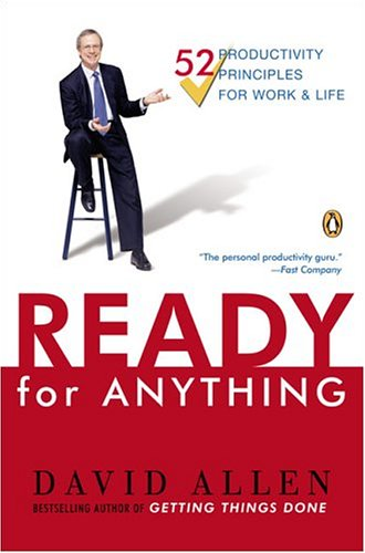 Ready for Anything: 52 Productivity Principles for Getting Things Done 9780143034544