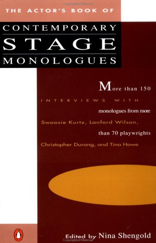 The Actor's Book of Contemporary Stage Monologues: More Than 150 Monologues from More Than 70 Playwrights 9780140096491