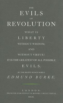 The Evils of Revolution 9780141042466