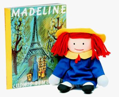 The Madeline Book [With Toy Box] 9780140348804