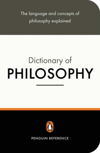 The Penguin Dictionary of Philosophy 9780140512502
