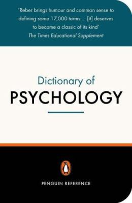 The Penguin Dictionary of Psychology: Third Edition
