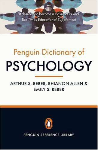 The Penguin Dictionary of Psychology 9780141030241