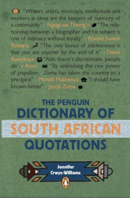 The Penguin Dictionary of South African Quotations 9780143025450