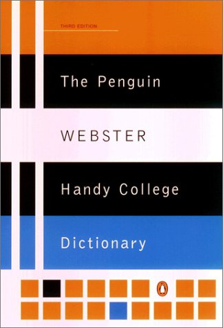The Penguin Webster Handy College Dictionary 9780142003145