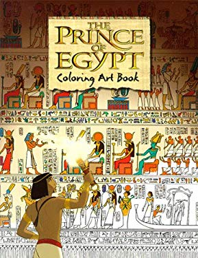 The Prince of Egypt Coloring Art Book 9780140564730