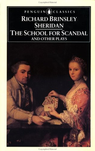 The School for Scandal and Other Plays 9780140432404