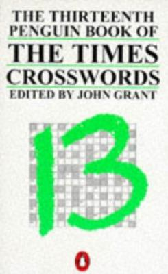 Times Crosswords, the Thirteenth Penguin Book of 9780140121131