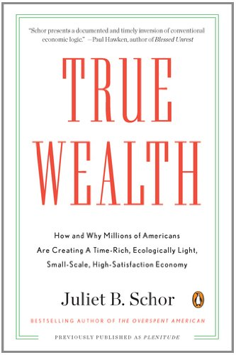 True Wealth: How and Why Millions of Americans Are Creating a Time-Rich, Ecologically Light, Small-Scale, High-Satisfaction Economy 9780143119425