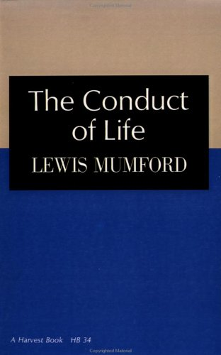 The Conduct of Life 9780156216005