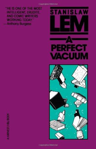 A Perfect Vacuum 9780156716864