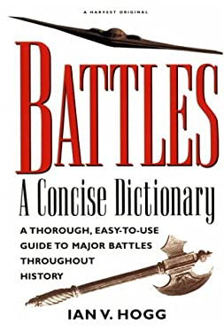 Battles:: A Concise Dictionary 9780156003971