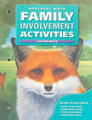 California Harcourt Math Family Involvement Activities: Grade 5 9780153215858