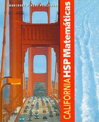 California HSP Matematicas 9780153750953