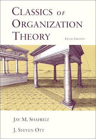 classics of organization theory These are controlling mechanisms for smooth functioning of the organization organizational differentiation is the  organization theory.