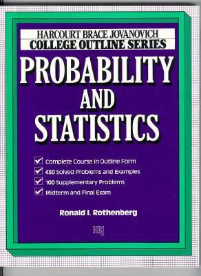 College Outline for Probability and Statistics 9780156016766